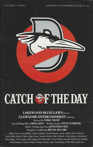 Lakewood BlueClaws Program