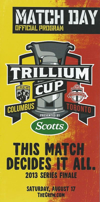 Columbus Crew vs. Toronto FC. August 17, 2010