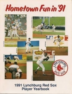 Lynchburg Red Sox Program
