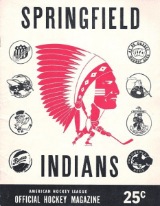 Springfield Indians Game Program