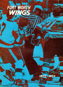 1972-73 Fort Worth Wings Program