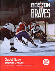 Boston Braves Program