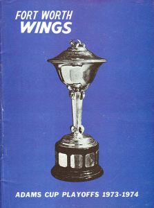 1974 Fort Worth Wings Program