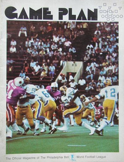 1975 Philadelphia Bell Game Program