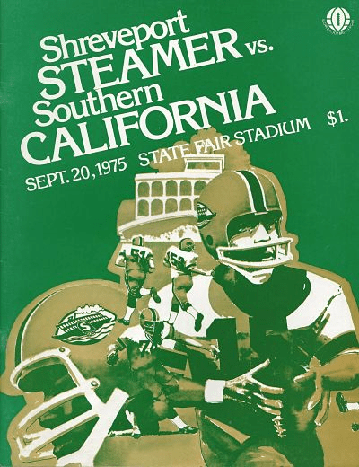 1975 Shreveport Steamer Program