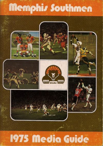 1975 Memphis Southmen Media Guide