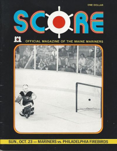 Maine Mariners vs. Philadelphia Firebirds 1977