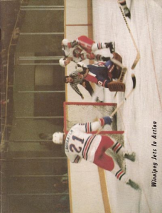1978 Winnipeg Jets Program