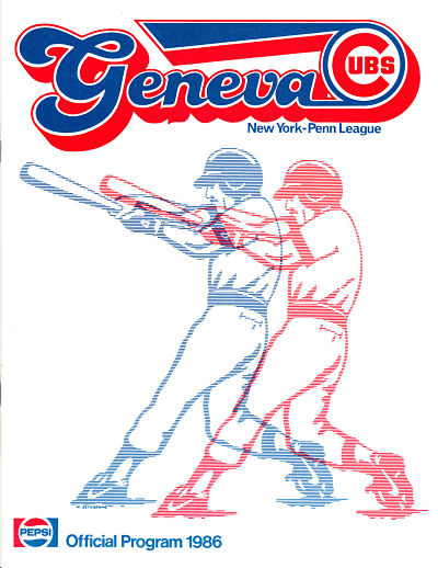 1986 Geneva Cubs Program