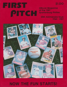 Spartanburg Phillies Program