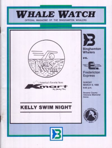 Binghamton Whalers Program