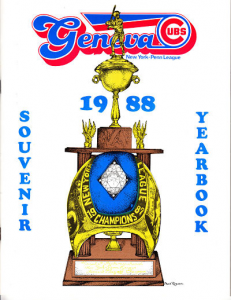 Geneva Cubs Program