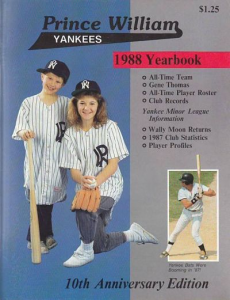 Prince William Yankees Program