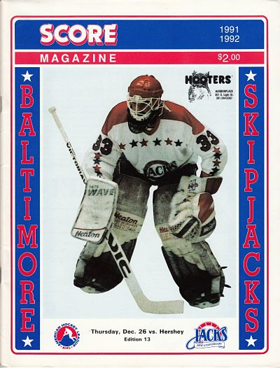 1991 Baltimore Skipjacks Program