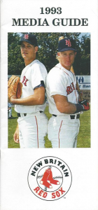 1993 New Britain (CT) Red Sox Media Guide