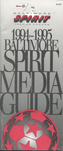 1994-95 Baltimore Spirit Media Guide