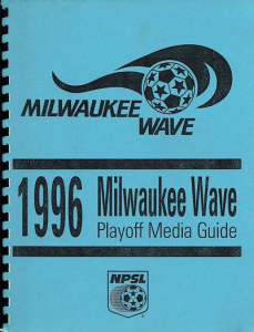 Milwaukee Wave Media Guide