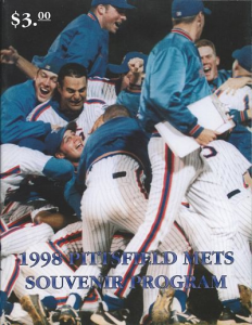 Pittsfield Mets Program