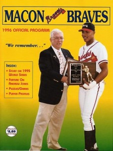 Macon Braves Program