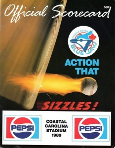 Myrtle Beach Blue Jays Program