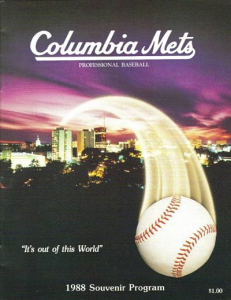 Columbia Mets Program