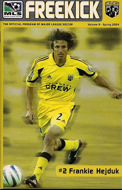 Columbus Crew vs. New England Revolution. May 15, 2004