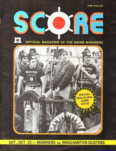 1977 Maine Mariners Program