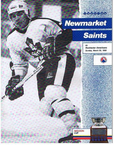 Newmarket Saints Program