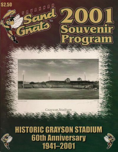 Savannah Sand Gnats Program