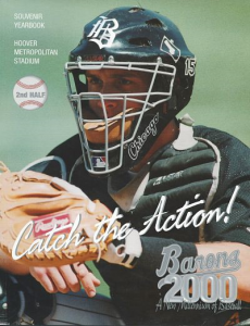 2000 Birmingham Barons Program