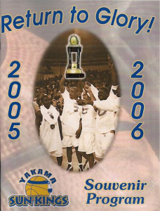 2005-06 Yakima Sun Kings Program