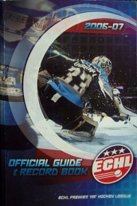 2006-07 East Coast Hockey League Media Guide