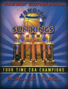 2006-07 Yakama (WA) Sun Kings Program
