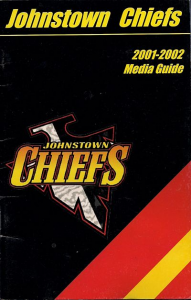 2001-02 Johnstown Chiefs Media Guide