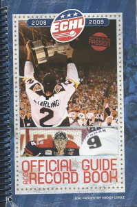 2008-09 ECHL Guide & Record Book