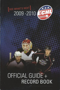 2009-10 ECHL Guide & Record Book