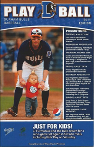 2011 Durham Bulls Program