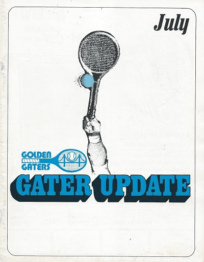 1976 Golden Gaters Program