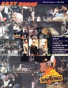 1999-00 Yakima Sun Kings Program