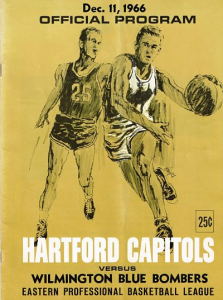 1966 Hartford Capitols Program