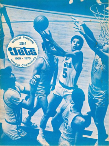 1970-71 Allentown Jets Program