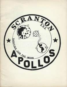 1972-73 Scranton Apollos Program