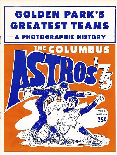 1973 Columbus Astros Program