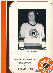 Mike Busniuk Beauce Jaros