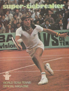 1976 World Team Tennis Program