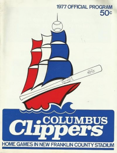 1977 Columbus Clippers Program