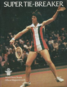 Billie Jean King New York Apples