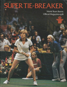 World Team Tennis Program