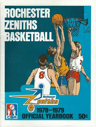 1978-79 Rochester Zeniths Yearbook