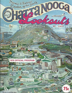 1979 Chattanooga Lookouts Program